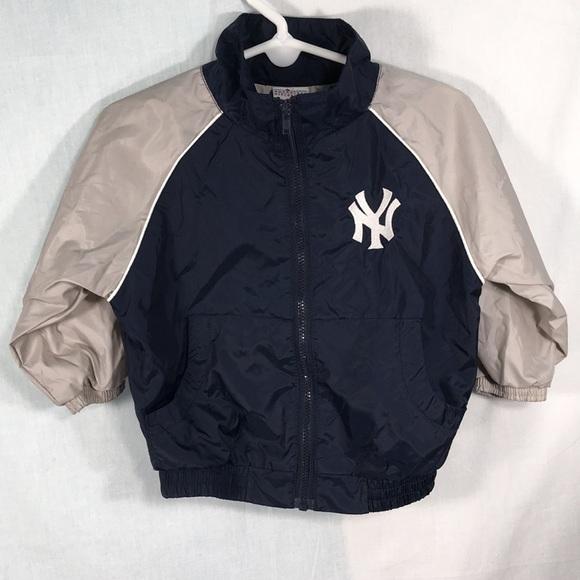timeless design e61d1 636d1 Majestic New York Yankees kids jacket